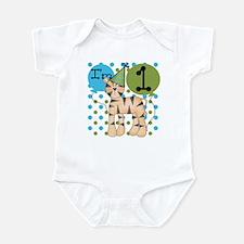Tiger 1st Birthday Infant Bodysuit