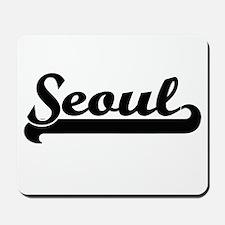 I love Seoul South Korea Mousepad