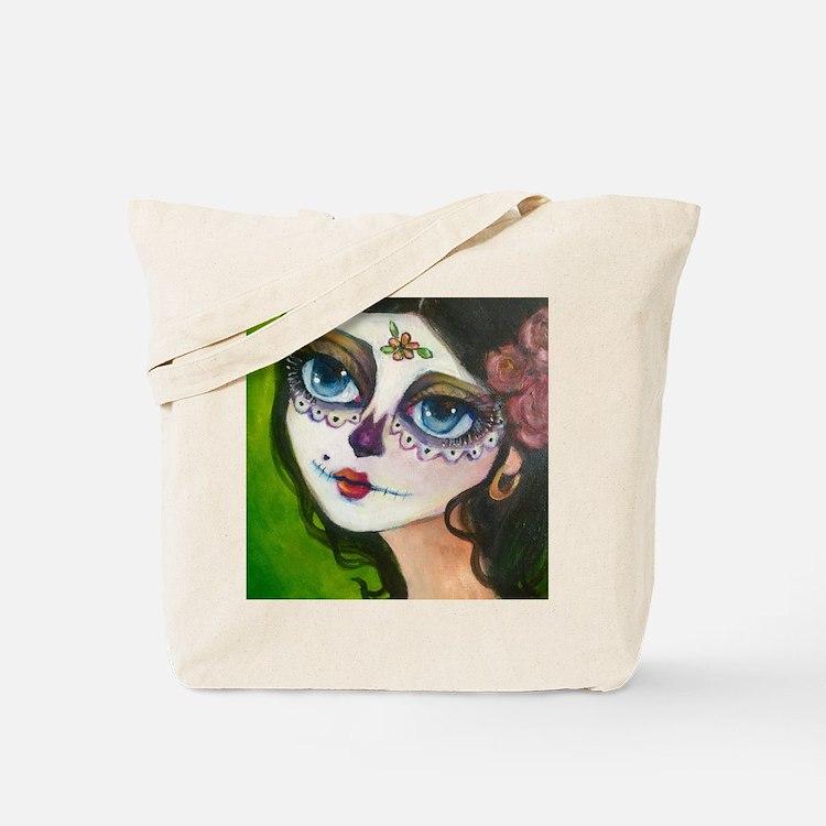 Cute Dia muerto Tote Bag