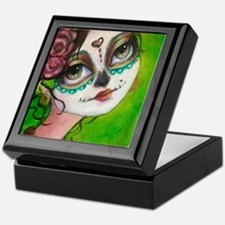 Cool Sugar skull Keepsake Box