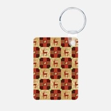 CHRISTMAS QUILT Keychains