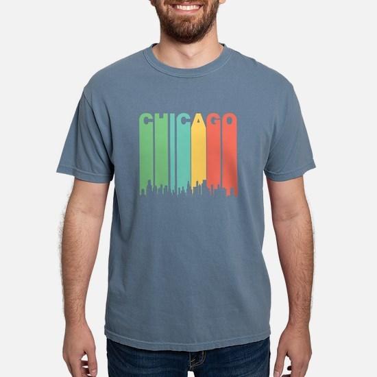 Vintage Chicago Cityscape T-Shirt