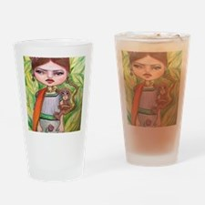 Cute Mexican style Drinking Glass