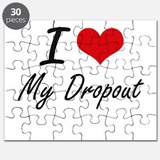 I Love My Dropout Puzzle