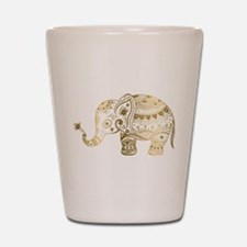 Cute Elephant Shot Glass