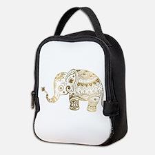Unique Animals Neoprene Lunch Bag
