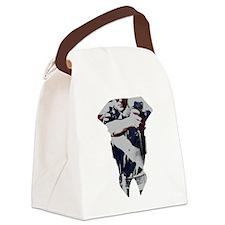 Cute Rookie Canvas Lunch Bag