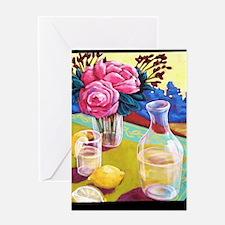 Lemon Water Greeting Card