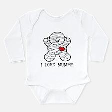 I Love Mummy Long Sleeve Infant Body Suit