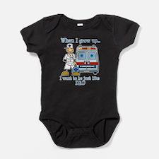 Cute Doctors Baby Bodysuit