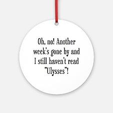 read ulysses Ornament (Round)