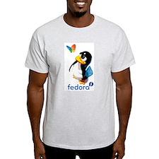 Unique Fedora linux T-Shirt