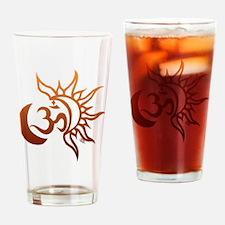Mehndi Drinking Glass