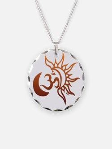 Celestial Om Necklace