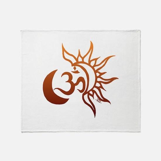 Celestial Om Throw Blanket