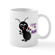 Ant Cartoon - I Love My Aunt Mugs