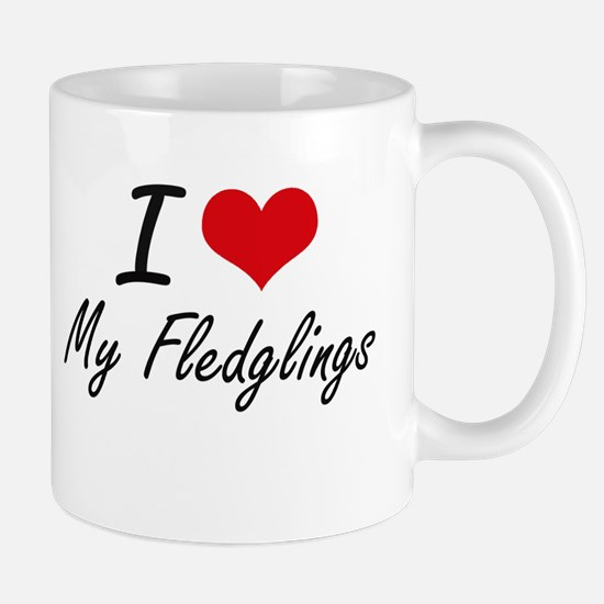 I Love My Fledglings Mugs