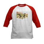 VINTAGE CAT ART Kids Baseball Jersey