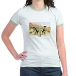 VINTAGE CAT ART Jr. Ringer T-Shirt