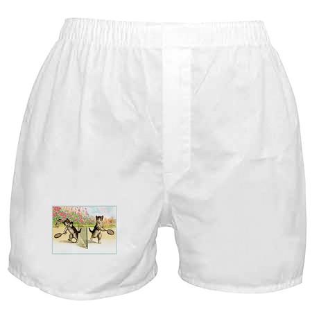 VINTAGE CAT ART Boxer Shorts