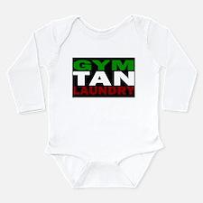 Unique Gym tan laundry Long Sleeve Infant Bodysuit