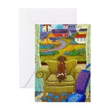 Funny Villages Greeting Card