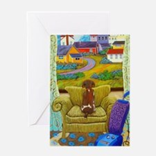 Cute Chairs Greeting Card