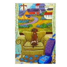 Cute Chairs Postcards (Package of 8)