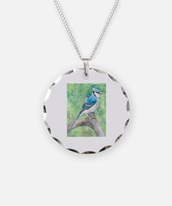 Cute Blue jay Necklace