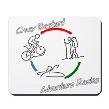 Crazy Bastard Adventure Racing Mousepad