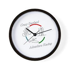 Crazy Bastard Adventure Racing Wall Clock