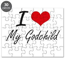 I Love My Godchild Puzzle
