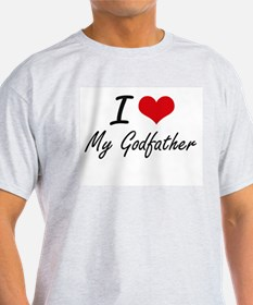 I Love My Godfather T-Shirt