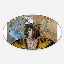 Camille Claudel Oval Decal