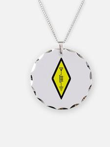 Ham Radio Symbol Necklace