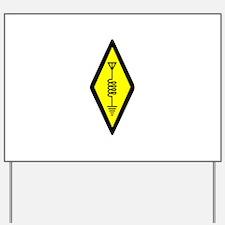Ham Radio Symbol Yard Sign