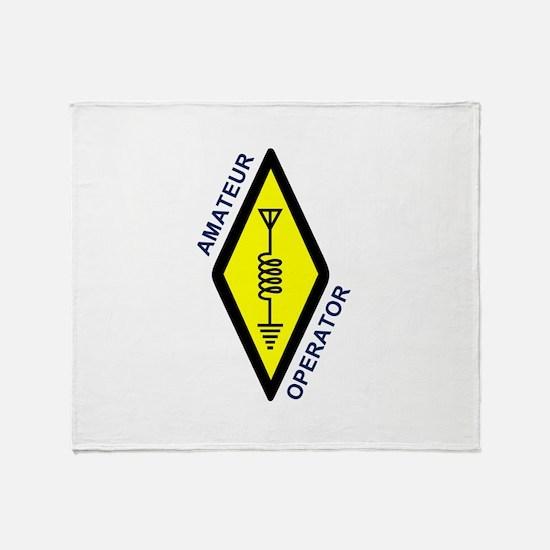 Amateur Operator Throw Blanket