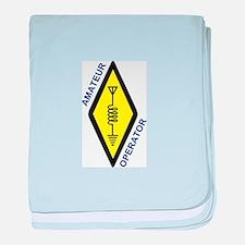 Amateur Operator baby blanket