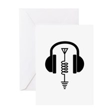 Ham Radio Operator Greeting Cards