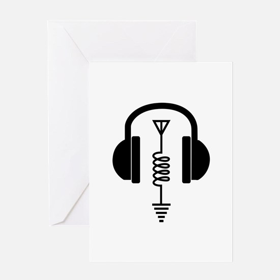 Ham Radio Operator Greeting Cards