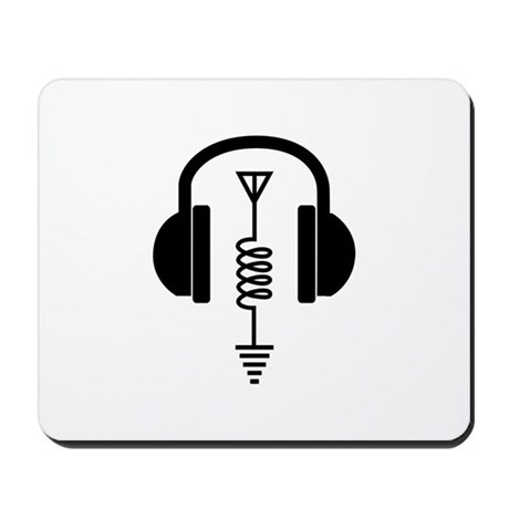 Ham Radio Operator Mousepad by Greatnotions36