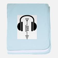 Ham Radio Operator baby blanket