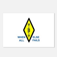 When All Else Fails Postcards (Package of 8)