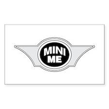 Mini Me Rectangle Bumper Stickers