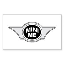 Mini Me Rectangle Decal