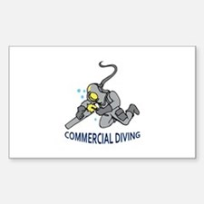 Commercial Diving Decal