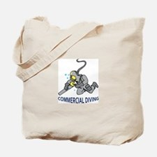 Commercial Diving Tote Bag