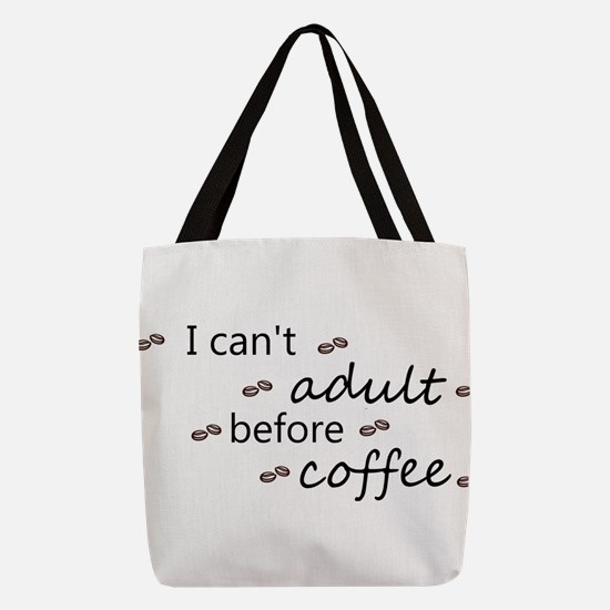 coffee Polyester Tote Bag