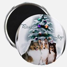 Cute Christmas dog lovers Magnet