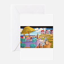 Summer at the Seashore Greeting Cards